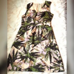 Banana Republic Tropical Print Dress
